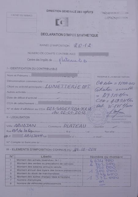 Declaration Chiffre D Affaire Auto Entrepreneur Caf