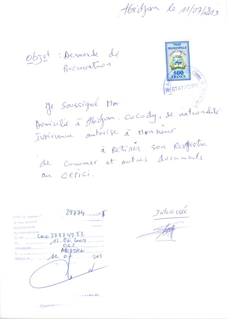 Eregulations Côte D Ivoire